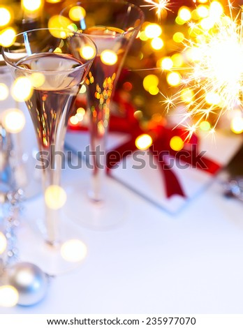 Art Christmas or new years party