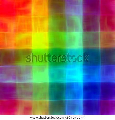 Art color rainbow textured blur mosaic plaid background