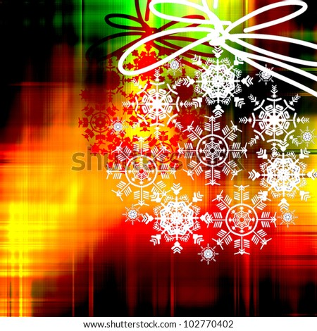 art colorful christmas background with space for text