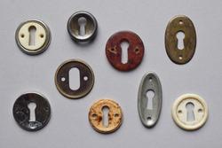 Art Deco furniture keyhole surround
