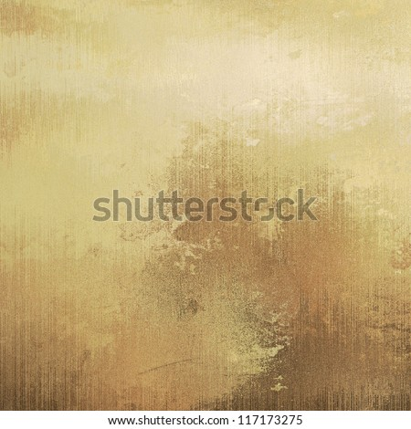 art dust textured monochrome background in old gold, beige and brown colors