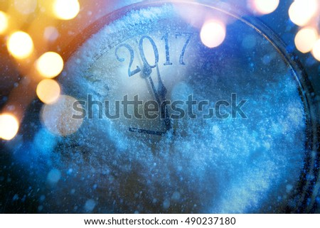 art 2017 happy new years eve background #490237180