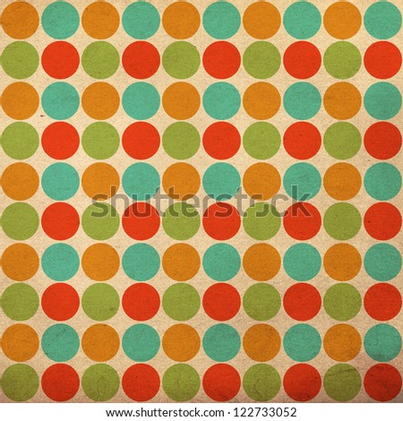 art image, colorful pattern, vintage