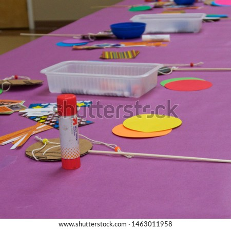 Art material and supplies for project #1463011958