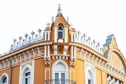 Art nouveau architecture in Oradea, Romania, Europe