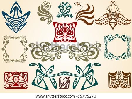 Symbolism in Art Nouveau Art Nouveau Collect Symbol