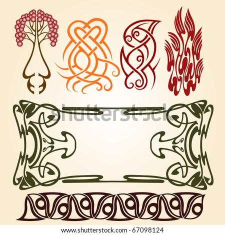 Symbolism in Art Nouveau Art Nouveau Ellements Symbol
