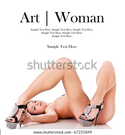Art of a Woman with Text Space Above