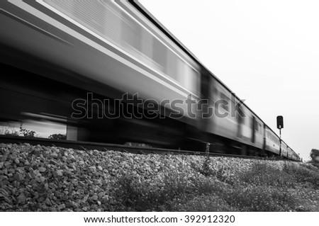 art of train driveway in...