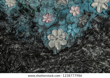 Abstract art, oil painting background Images and Stock