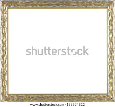 art picture frame golden
