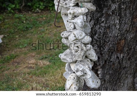 Art stones decoration #659813290
