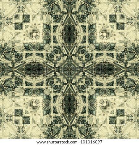art vintage geometric ornamental pattern