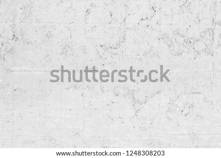 Art White concrete texture for background in black. color dry scratched surface wall cover sand art abstract colorful relief scratches shabby vintage cement grey detail stone covering. #1248308203