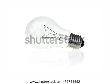 art work of light bulb concepts for general business - stock photo