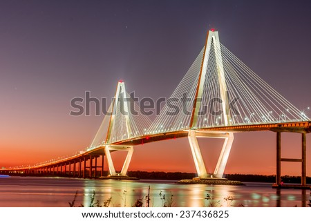 Arthur Ravenel Bridge #237436825