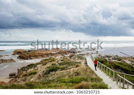 Arthur River, West Coast, Tasmania. #1063210721