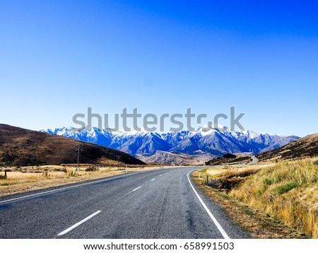 Arthur's pass scene route New Zealand's Arthur's Pass National Park - Shutterstock ID 658991503