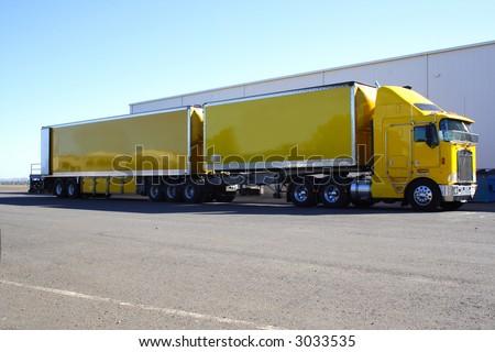 stock-photo-articulated-semi-truck-twin-