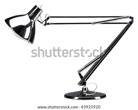 articulated table lamp for drafting table