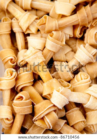 artificial dog bones with two knots the pet delicious