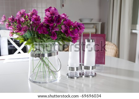 Artificial Flower Home Decoration. Stock Photo 69696034 : Shutterstock