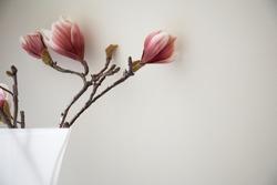Artificial flower in vase