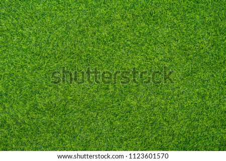 Artificial grass background #1123601570