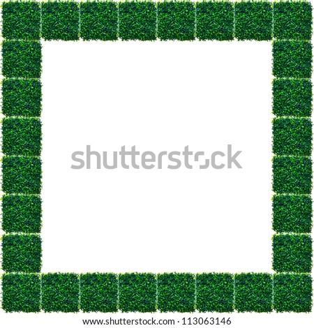 Artificial Grass Chess board texture.