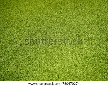 Artificial grass football field - Shutterstock ID 760470274