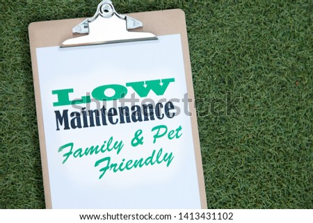 Artificial lawn, synthetic grass or turf. #1413431102