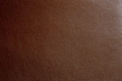 Artificial leather the color of milk chocolate. Faux leather texture
