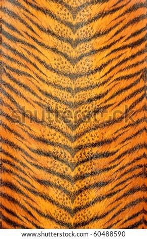 artificial tiger skin pattern