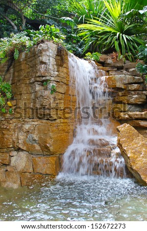 artificial waterfall