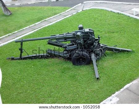 Artillery in the Fortress Mont Serrat - Salvador de Bahia - Brazil