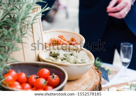 Artisan Food and Canapés at Wedding
