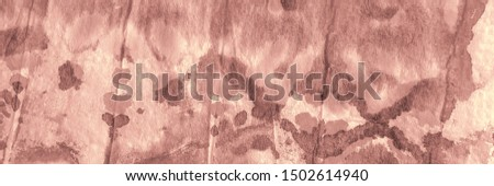 Artistic Artistic Tie Dye. Watercolor Paint. Pink Dirty Background. Romantic Aquarelle Paint. Cute Modern Dyed. Oil Ink. Home Brushed Texture. Traditional Dyed.