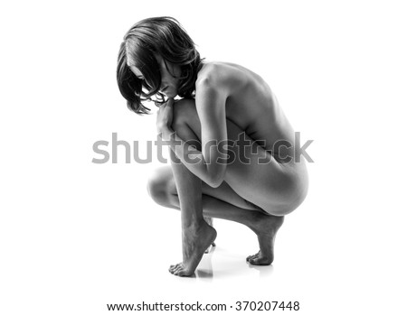 black and white nude women № 40980