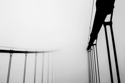 Artistic perspectives of the Golden Gate Bridge in San Francisco