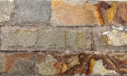 artistic sandstone wall texture background patterns A sample of high quality veneer slate