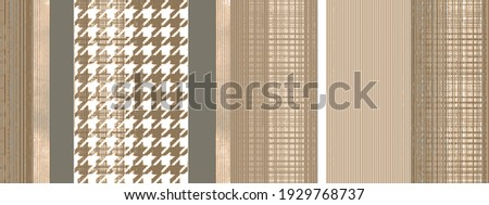 Artistic shibori geo deep dye geo tie stripe with pie de poule coloured boho Pattern seamless Dyed Print design . Abstract Texture Hand Ethnic Batik for runner carpet, rug, scarf, curtain