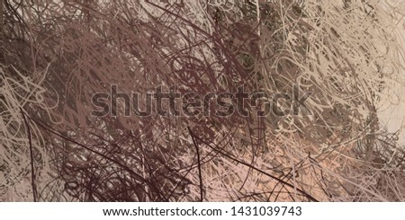 Artistic sketch backdrop material. Abstract geometric pattern. Chaos and random. Modern art drawing painting. 2d illustration. Digital texture wallpaper.  #1431039743