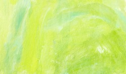 Artistic spring background with brush marks
