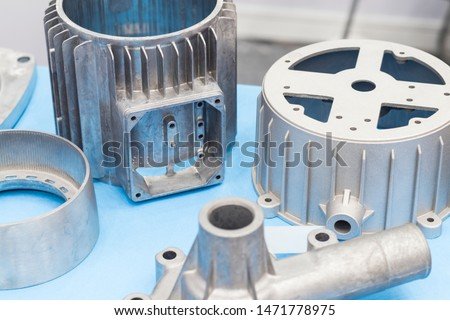 as cast  aluminium high pressure die casting part for automotive and electrical equipment #1471778975