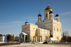 Ascension Cathedral. Yelets City. High quality photo