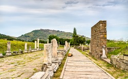 Asclepieion of Pergamon, an archaeological site in Turkey