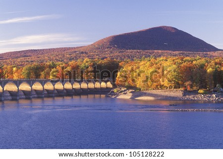 Ashokan Reservoir at Sunset, Catskill Forest Preserve, New York