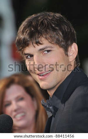 "Ashton Kutcher at the Los Angeles premiere of his new movie ""Killers"" at the Cinerama Dome, Hollywood. June 1, 2010  Los Angeles, CA Picture: Paul Smith / Featureflash"