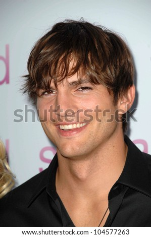 Ashton Kutcher  at the Los Angeles Premiere of 'Spread'. Arclight Cinemas, Hollywood, CA. 08-03-09