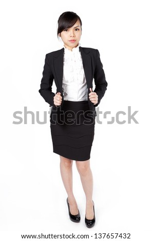 Asia business woman